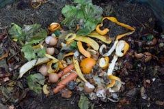 av en composting behållare arkivbilder