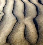av en torr sand och stranden lanzarote Spanien Arkivfoto