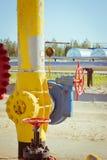 av gas Arkivfoto