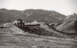 Av händelse för springa för väg på Laughlin Nevada arkivbild