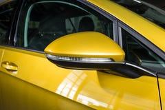 19 av Januari, 2018 - Vinnitsa, Ukraina Volkswagen VW Golf pres Arkivbild