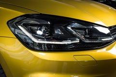 19 av Januari, 2018 - Vinnitsa, Ukraina Volkswagen VW Golf pres Arkivfoton
