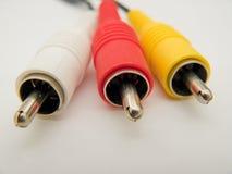 AV kabel stock afbeeldingen