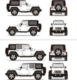 av lastbilen för vägsportsuv royaltyfri fotografi