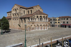 Ö av Murano - Venedig - Italien Arkivfoton