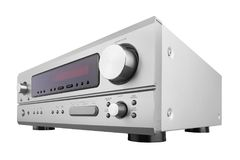 AV Receiver for home cinema Royalty Free Stock Photos