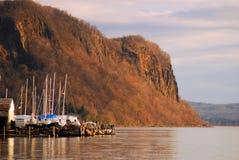 Av säsong på Hudsonen arkivfoton