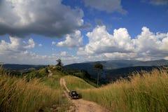 Av vägen i Phetchabun Thailand Arkivbild