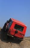 av väglastbilen Royaltyfri Foto