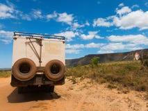 av väglastbilen Fotografering för Bildbyråer