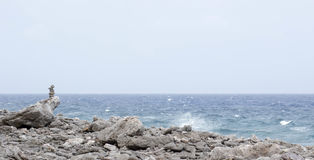 Av vagga och havet royaltyfri foto