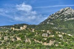 By av Valldemosa & x28; Mallorca - Spain& x29; Royaltyfri Bild