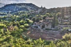 By av Valldemosa & x28; Mallorca - Spain& x29; Arkivbilder