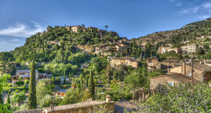 By av Valldemosa & x28; Mallorca - Spain& x29; Arkivbild
