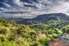 By av Valldemosa & x28; Mallorca - Spain& x29; Royaltyfri Foto