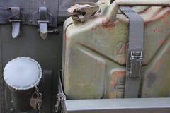 Av vägjeepen på baksidan Royaltyfri Fotografi