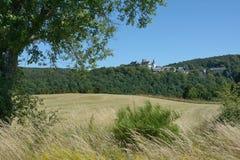 By av Wildenburg, Hellenthal, Eifel, Tyskland Royaltyfri Foto