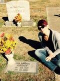 Ava Gardner's gravesite Stock Photography