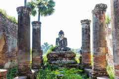 Ava  Mandalay state Myanmar. Ruins of the ancient kingdom of Ava Amarapura  Mandalay state Myanmar Royalty Free Stock Photo