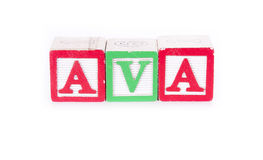 Ava Royalty Free Stock Images