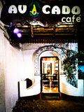 Avacado café. In aleppey intro click Stock Photo