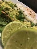 Avacado heaven. Avocado toast With citrusy lime juice Stock Photo