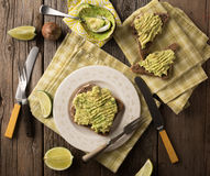 Avacado on Toast Stock Photos