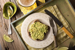 Avacado on Toast Stock Photography