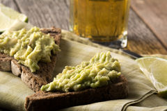 Avacado on Toast Stock Images