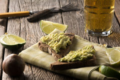 Avacado on Toast Royalty Free Stock Image