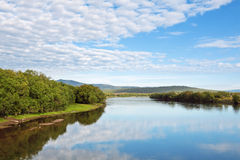 Avacha River Royalty Free Stock Photography