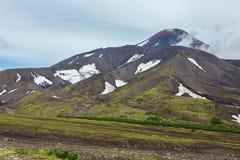 Avacha Volcano or Avachinskaya Sopka on Kamchatka Peninsula Royalty Free Stock Photos