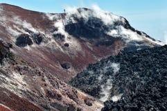 Avacha Volcano on Kamchatka ,  Russia, Royalty Free Stock Photo