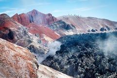 Avacha Volcano on Kamchatka ,  Russia, Royalty Free Stock Image