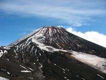 Avachavulkaan, Kamchatka Stock Foto's