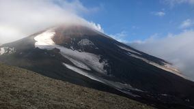 Avachinsky volcano, Kamchatka, Russia Royalty Free Stock Images