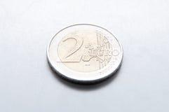 2 available coin euro high resolution vector very Στοκ εικόνες με δικαίωμα ελεύθερης χρήσης