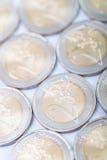 2 available coin euro high resolution vector very Στοκ φωτογραφίες με δικαίωμα ελεύθερης χρήσης