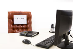 Available  executive desk Royalty Free Stock Image