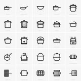 Pans & pots. Available in high-resolution and several sizes to fit the needs of your project Royalty Free Stock Image