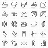 Space prepositions icon