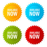 Available now star vector icon Royalty Free Stock Photo