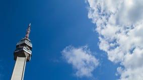 Avala Tower. On mountain Avala near Belgrade, Serbia Stock Images