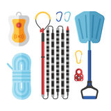 Avalanch Rescue Kit Royalty Free Stock Images