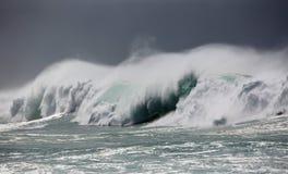 Avalancha de agua foto de archivo libre de regalías