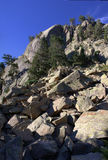Avalancha de pedra Fotografia de Stock