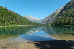 Avalanche湖 库存图片