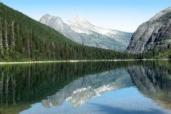 Avalanche湖 免版税库存图片