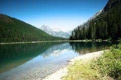 Avalanche湖 库存照片
