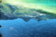 Avalanche湖 免版税图库摄影